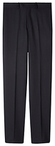 Aquascutum Twill Wool Suit Trousers, Navy