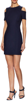 1 STATE Navy Double Weave Dress