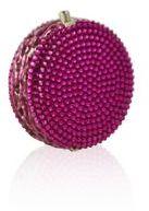 Judith Leiber Macaron Crystal Pillbox
