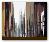 "McGaw Graphics Urban Abstract No. 165 by Gregory Lang 22""x28"" Art Print Poster"