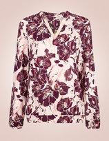 Marks and Spencer Floral Print Pyjama Set