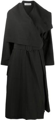 Issey Miyake Draped Trench Coat