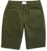 Hudson Boys' Stretch Twill Pull On Shorts - Sizes 2-7
