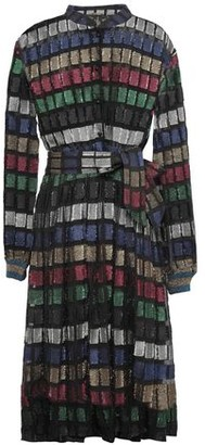 Dodo Bar Or Belted Fil Coupe Dress