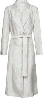 Brunello Cucinelli Belted Clutch Coat