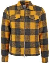 Wood Wood Dale Summer Jacket Lemon Checks