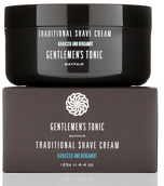 Gentlemen's Tonic Traditional Shave Cream 125g