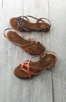 J. Jill Crisscross sandals
