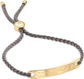 Monica Vinader Havana 18 carat gold plated vermeil friendship bracelet