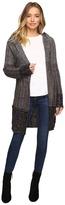 Brigitte Bailey Willow Long Sleeve Sweater with Hood