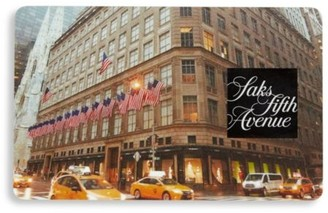Saks Fifth Avenue NYC Flagship Gift Card