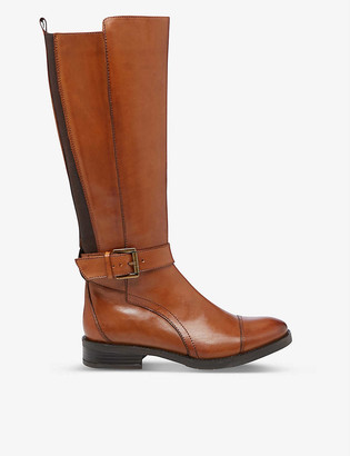 Bertie Tusk leather mid-calf boots