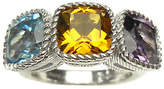 Judith Ripka Sterling 6.00cttw Multi-Gemstone Ring