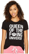 Juicy Couture Queen of the Universe Short Sleeve Tee Women's T Shirt