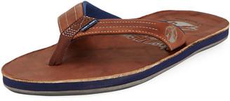 Hari x Nokona Men's Leather Thong Sandals