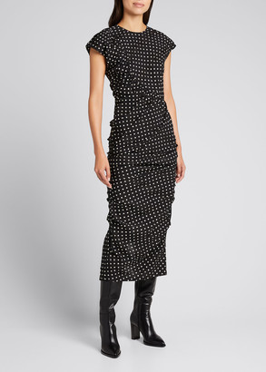 Rachel Comey New Delirium Polka Dot Column Dress