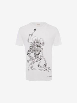 Alexander McQueen Lovers Skeleton T-Shirt