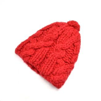 Prada Red Wool Hats