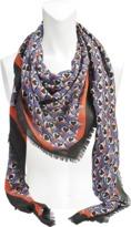 Mary Katrantzou 140x140 Big Hearts scarf