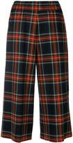 P.A.R.O.S.H. plaid cropped trousers
