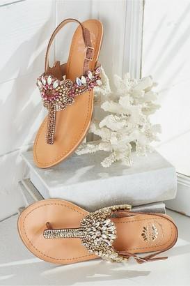 La Reina Wedge Sandals