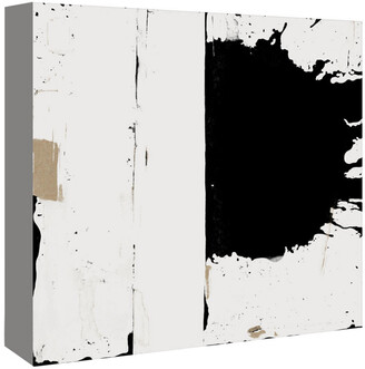 American Flat Americanflat Black And White Abstract 3 By Kasi Minami Canvas Artwork
