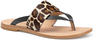 Trask Shay Genuine Calf Hair Slide Sandal