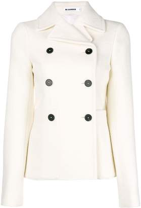 Jil Sander double breasted fitted jacket