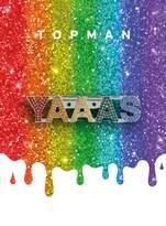 TopmanTopman Pride Rainbow Crystal Badge*