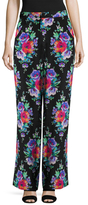 Nanette Lepore Silk Poise's Straight Leg Pant