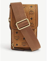 Mcm Visetos print coated canvas phone case