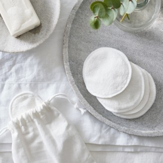 The White Company Reusable Skincare Pads, No Colour, One Size