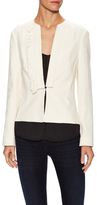 Derek Lam 10 Crosby Cotton Shawl Peplum Blazer