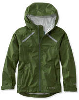 L.L. Bean Kids' Trail Model Rain Jacket, Print