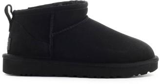 UGG Classic Ultra Mini Black Boot