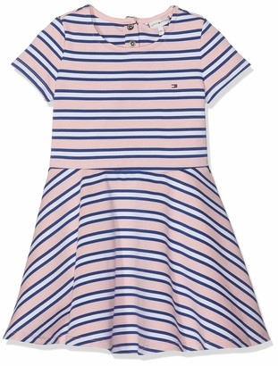 Tommy Hilfiger Girl's Essential Stripe Skater Dress