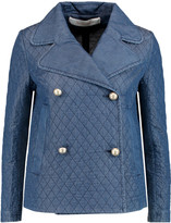 See by Chloe Embroidered chambray jacket