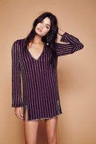 Free People Black Magic Mini Dress