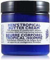 Carapex Tropical Butter Cream for Men, Natural Body Butter Cream for Sensitive Skin, Dry Skin, Cracked Skin, with Shea Butter, Vitamin E, Unscented, 4oz