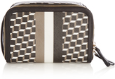 Pierre Hardy Cube-print coated-canvas cosmetics case