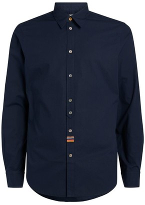 Paul Smith Embroidered Artist Stripe Shirt