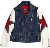 Diesel Star Leather Jacket