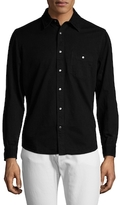 Hudson Weston Cotton Solid Sportshirt