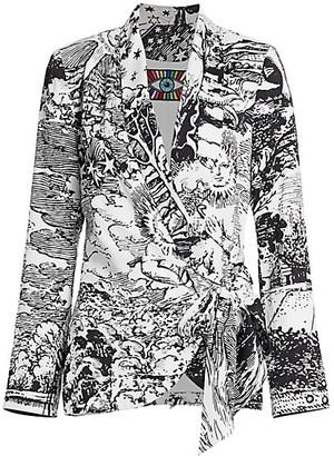 Libertine Modern Toile Wrap Jacket