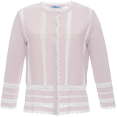 Blumarine Lace Detail Sweater