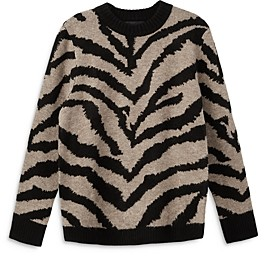 Karen Kane Animal Jacquard Sweater