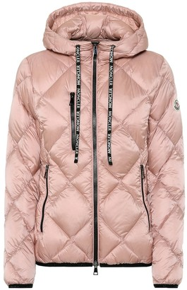 Moncler Oulx hooded down jacket