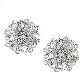 Nina Crystal Cluster Stud Earrings