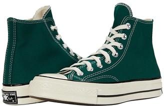 Converse Chuck 70 Organic Canvas Hi (Cactus Flower/Black/Egret) Athletic Shoes