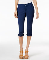 Lee Platinum Petite Chino Cropped Pants, A Macy's Exclusive